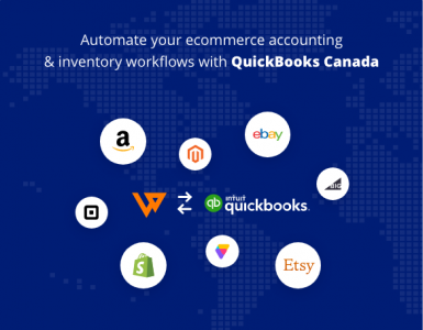 Webgility integration with QuickBooks Online Canada