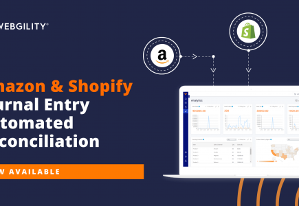 Webgility offers automated Amazon & Shopify journal entry reconciliation