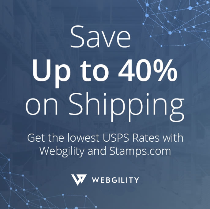 Webgility and Stamps.com Pen New Partnership, Providing Ecommerce Sellers Discounted USPS Shipping Rates