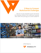 webgility whitepaper - 5 ways to conquer multichannel challenges