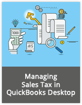 Managing Sales Tax in QuickBooks Desktop webinar