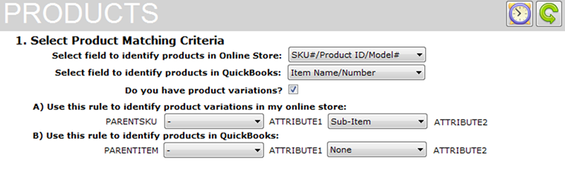 X-Cart and QuickBooks product sync