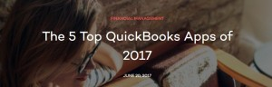 The 5 Top QuickBooks Apps of 2017