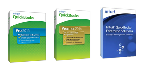 Comparing QuickBooks Pro, Premier, and Enterprise